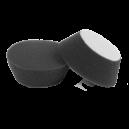 Мягкий черный мини полировальный круг 50/66мм LERATON MDAF66