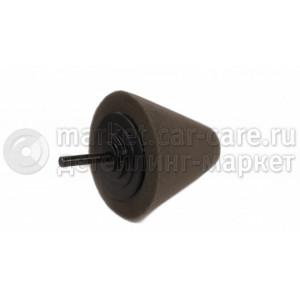 Конусный полировальник большой мягкий черный LERATON
