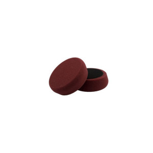 """100 мм  БОРДОВЫЙ жесткий полировальный круг FlexiPads (2 в наборе) / 100mm (4"""") MAROON S/Buff Cutting Spot Pad (Set of 2)"""