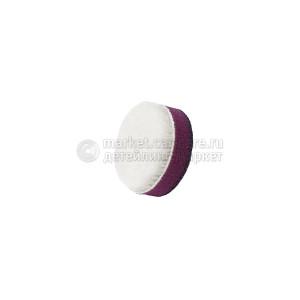 35/15 ZviZZer белый меховой круг (ворс 5 мм)