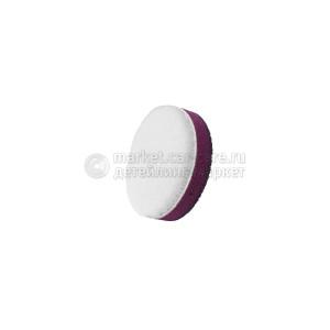 55/15 ZviZZer белый меховой круг (ворс 5 мм)