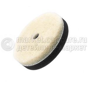 """80 мм FlexiPads PRO-Wool режущий полировальный круг """"стриженный мех"""""""
