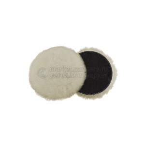 160 мм FlexiPads SUPERFINE Merino средне режущий меховой круг из натуральной овчины двойного расчеса (ворс 20мм)