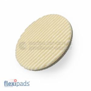 80 мм FlexiPads Гибридный полировальный круг (шерсть/микрофибра)