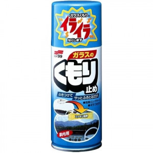 Антизапотеватель Soft99 Anti-Fog Spray для стекол, аэрозоль, 180 мл
