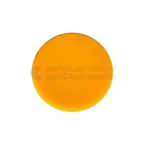 Поролоновый полировальный диск жёлтый средний Mirka 85 мм.