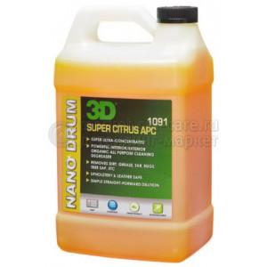 Универсальный очиститель 3D SUPER CITRUS APC супер концентрат, 1,89л