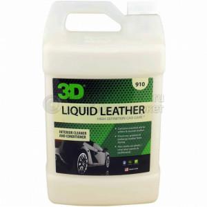 Средство по уходу за кожей, винилом и пластиком 3D LVP CONDITIONER, 3,78л