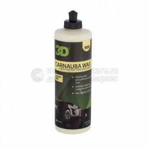 3D Carnauba Wax размягченный воск 470 мл