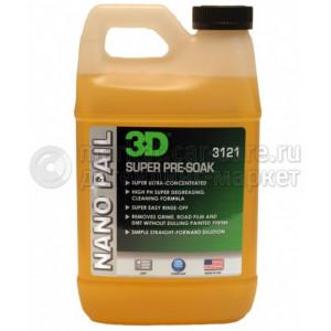 3D Super Pre-Soak шампунь концентрат с высоким pH 3,78л