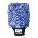Dry Monster Синяя микрофибровая варежка для мойки MITT