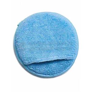 Круглый аппликатор для ручной полировки с кармашком Auto Magic ROUND MICROFIBER WAX APPLICAT W/PO