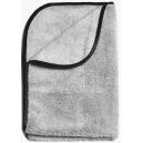 Микрофибровое полотенце Auto Magic SUPER PLUSH 16x24 SILVER W/BORD, 40*60см