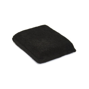 Hi-Tech Wax applicator black аппликатор. Обтянутый микрофиброй для детейлинга интерьера.