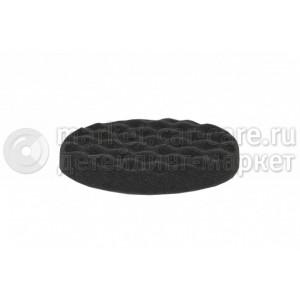 JETAPRO Мягкий полировальный диск рифленый черный 150x30мм