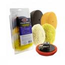 Набор кругов для полировки кузова. Hi-Tech HI Buff 6 pc.mini pad polishing