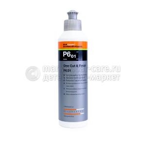 Полировальная паста с защитным эффектом Koch Chemie ONE CUT & FINISH P6.01, 250мл