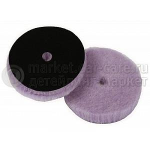 Меховой полировальный круг LakeCountry лиловый, 155мм