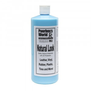 Очистка и защита пластика и кожи Poorboy's World Natural Look 4oz/100ml