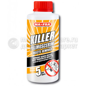 MA-FRA KILLER 250 ML Очиститель для удаления следов насекомых с автомобилей в бачок омывателя. Концентрат.