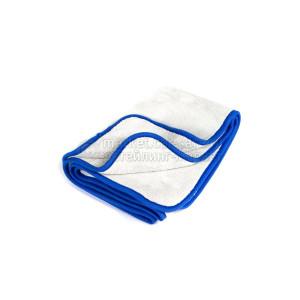 Полотенце для сушки 40х60 800 гр.,микрофибровое белое, A302