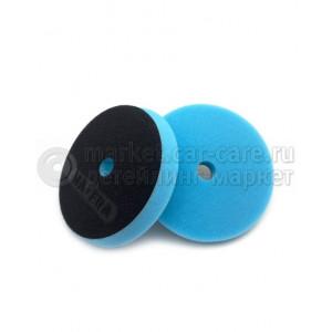 """BLUE PAD MEDIUM CUT MA-FRA Голубой поролоновый полировальный круг средней жесткости, диаметр145 мм/5"""", высота 20 мм."""