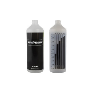 Бутылка 1L с мерной шкалой, черная / INNOVACAR