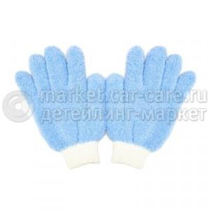 Бесшовные перчатки из м/ф для нанесения восков и уборки в салоне PURESTAR Dust interior glove